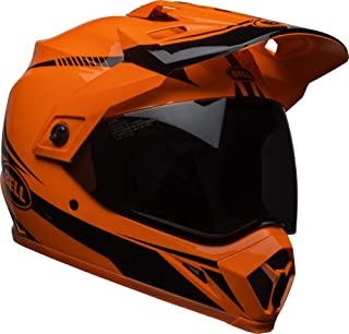 Bell MX-9 Adventure MIPS Full-Face Motorcycle Helmet (Gloss Hi-Viz Orange/Black Torch, X-Small)