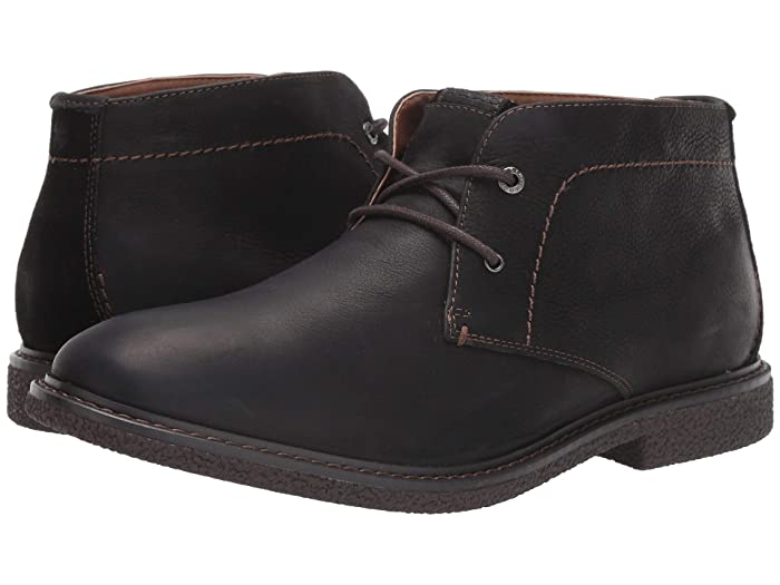 Lucky Brand  Boone (Black Full Grain) Mens Boots