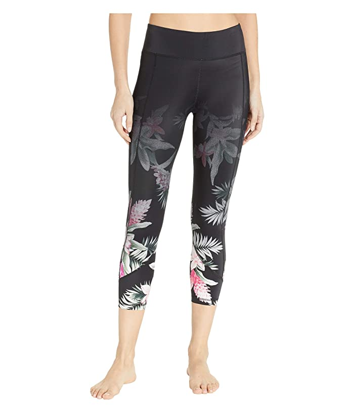 Tommy Bahama Active Cropped Leggings Cover-Up (Black) Women