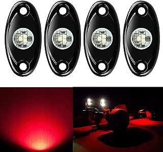 red led light pods