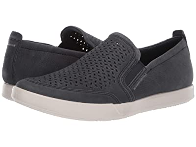 ECCO Collin 2.0 Perforated Slip-On (Navy) Men