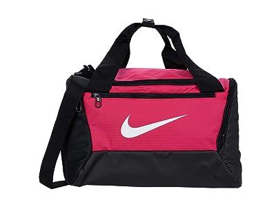 Nike Brasilia Extra Small Duffel 9.0 (Rush Pink/Black/White) Bags