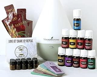 Young Living 10 Oils Dew Drop Diffuser 10 Samples