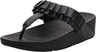 FitFlop Petal Ruffle Womens Thong Sandals