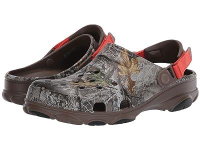 Crocs Classic All Terrain Realtree Edge Clog (Walnut) Clog Shoes
