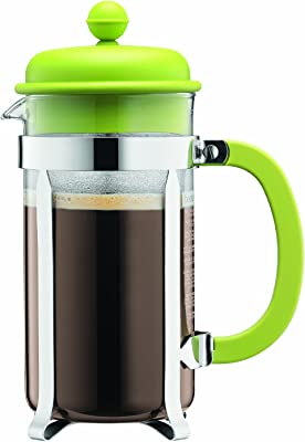 Bodum Caffettiera Coffee Maker 8 Cup 1L 34 Oz Lime Green