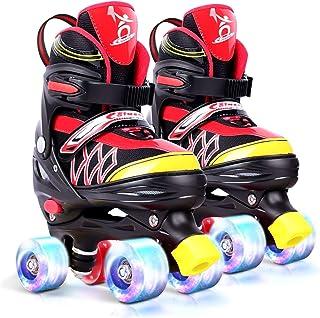 Roller Skates for Kids Adjustable Roller Skates Kids Adjustable Size Mixhomic Adjustable Roller Skates Boys 4 Light Up Wheel Adjustable Childrens Rollerskates for Beginners