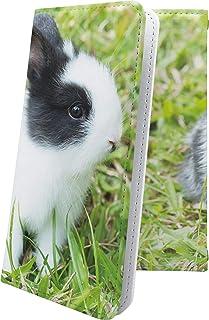 LG G2 mini LG-D620J ケース 手帳型 かわいい 可愛い kawaii lively ウサギ 兎 兔 エルジー ミニ ビッグローブ ビグローブ ジー2 動物 動物柄 アニマル どうぶつ G2mini キャラクター キャラ キャラ...