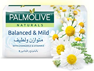 Palmolive Naturals Bar Soap Balanced And Mild With Chamomile Vitamin E 120Gm