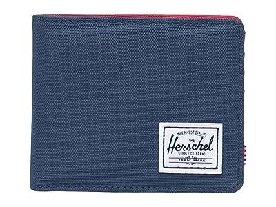 Herschel Supply Co. Roy Coin RFID (Navy/Red) Wallet Handbags