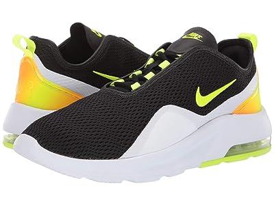 Nike Air Max Motion 2 (Black/Volt/White/Total Orange) Men