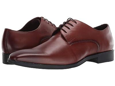 Massimo Matteo 4-Eye Plain Toe Classic (Antique Burnished Tan) Men