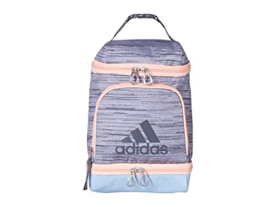 adidas Excel Lunch Bag (Lopper Grey Two/Glow Blue/Glow Pink/Onix) Bags