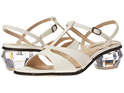 Marc Jacobs The Gem Sandal 40 mm (White) Women