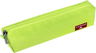Larkpad Pen Case Pencil Bag Portable Nylon Storage Pouch Marker Stationery Bag Holder for Office-Green