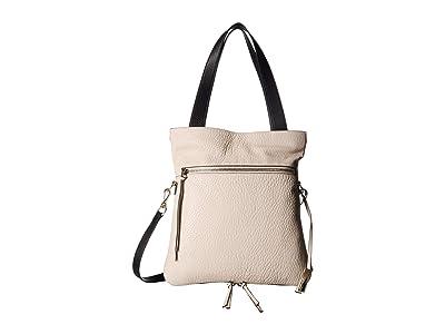 Vince Camuto Ida Tote (Seashell/Black) Tote Handbags