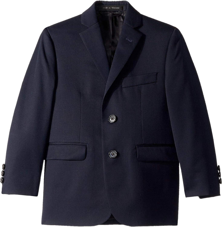 LAUREN RALPH LAUREN Boy's Classic Suit Separate Jacket (Little Kids/Big Kids) Navy 4 Little Kids