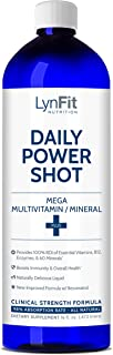 Daily Power Shot Liquid Multivitamin with Colloidal Minerals and CoQ10 16.5oz