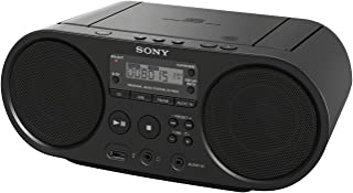 Sony Zs-PS50 Black Portable Cd Boombox Player Digital Tuner Am/FM Radio USB Playback and Audio Input Mega Bass Reflex Ster...
