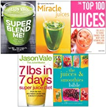 Super blend me!, new pyramid miracle juices, top 100, 7lbs in 7 days super diet, smoothies bible 5 books collection set