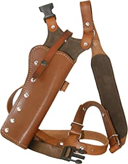 Western Images Leatherworks, Inc Sportsman's Leather Chest Holster for Ruger Super Redhawk and Super Blackhawk Revolvers Brown Leather