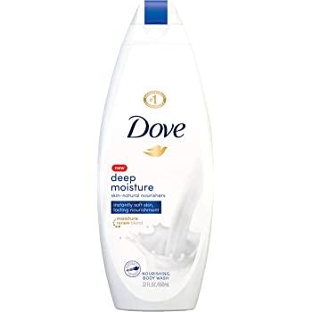 Dove Body Wash with Skin Natural Nourishers for Instantly Soft Skin and Lasting Nourishment Deep Moisture Cleanser That Effectively Washes Away Bacteria While Nourishing Your Skin 22 oz