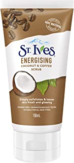 St. Ives Facial Scrub Coconut and Coffee, 150ml