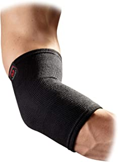 McDavid Level 1 Elastic Elbow Support, Black, Size S