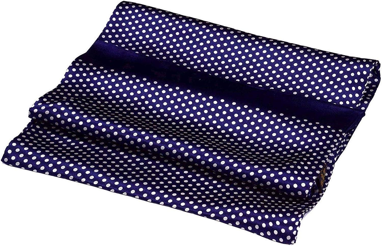 UK_Stone Soft Silk Scarf for Men Dot Colors Large discharge sale Patterned Polka 3 supreme