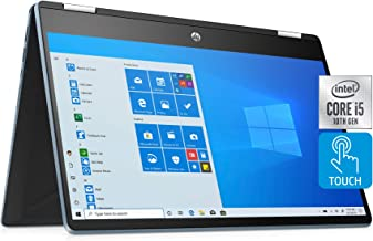 "HP Pavilion x360 14"" FHD WLED Touchscreen 2-in-1 Convertible Laptop, Intel Core i5-1035G1, 8GB DDR4, 256GB PCIe SSD, Wi-Fi..."