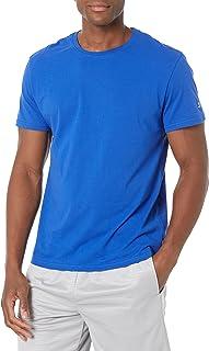 Starter Mens Short Sleeve Cotton-Blend Performance Tee