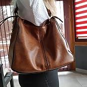 Femmes Sac à main marron Kossberg formidable Design poches intérieures métal remorque