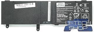 LI-TECH Batería Compatible 4000mAh para ASUS n550jk-cn300h 8Celdas de Repuesto Pila 4Ah