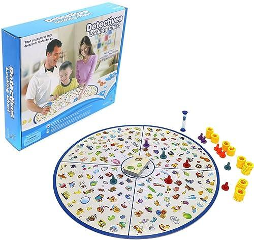 Detektive Sie Diagramm Brettspiel Eltern-Kind-Interaktive Desktop Spiel Parenting Familie Spiel für Kinder Kinder Geburtstag Weißnachten Neues Jahr Geschenk