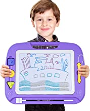 SGILE Large Magnetic Doodle Board Toy, Magnetic Erasable Drawing Pad for Kids Toddler Birthday Gift
