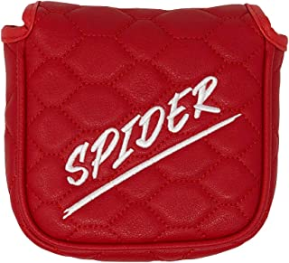 And Etcetera Mallet Putter Cover Headcover Strong Magnetic Closure Synthetic Leather for Taylormade 2017 Spider Ghost S Tour