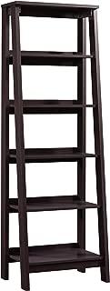 Sauder Trestle 5 Shelf Bookcase, W: 23.54