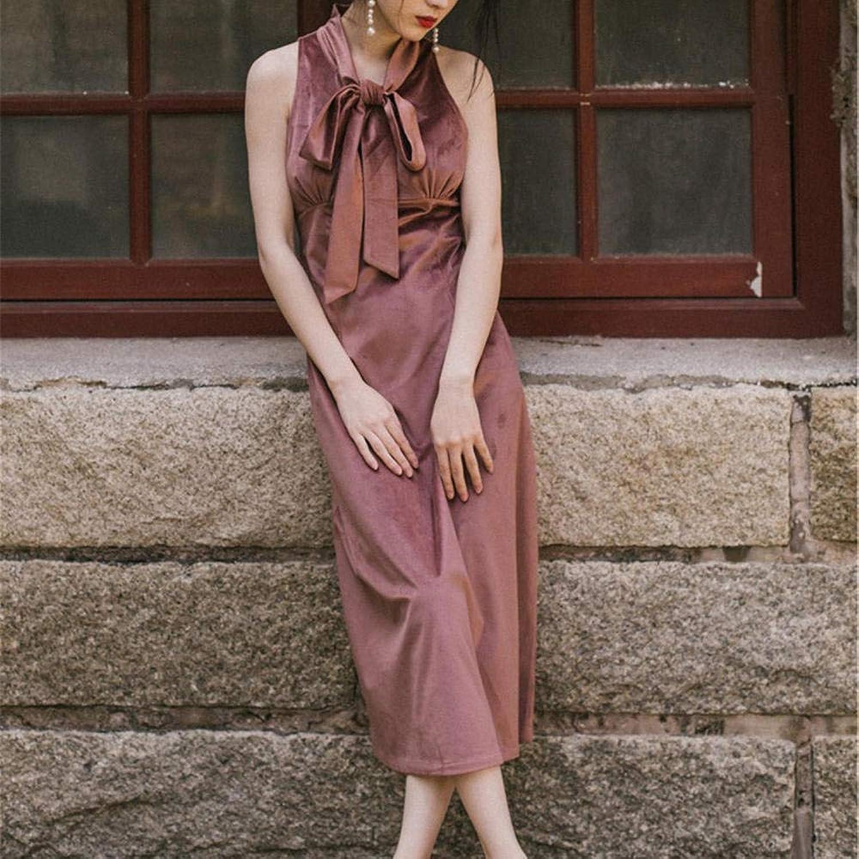 Summer Ladies Dress Retro Skirt Vest Skirt Sleeveless Dress