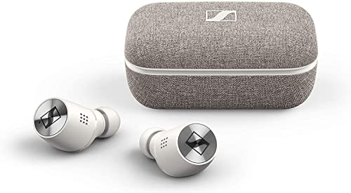 Sennheiser MOMENTUM True Wireless 2 in-Ear Noise Cancelling Headphones White (M3IETW2 White)