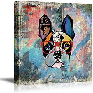 Best boston terrier canvas wall art Reviews