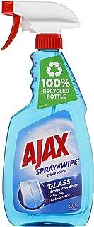 Ajax Spray n' Wipe Triple Action Glass Cleaner Anti Streak Anti Fog Anti Scratch Ammonia Free Trigger Spray Made in Austra...