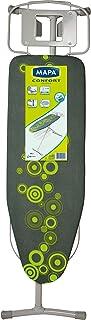 MAPA - Table à repasser Confort -Hauteur ajustable - Repassage Optimal et Confortable - Décor moderne - Plateau T1: 120 x...
