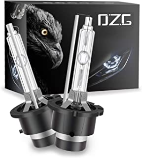 DZG D4S 6000K HID Xenon Headlight Bulbs 35W 12V Car Headlamp, 2 Pack