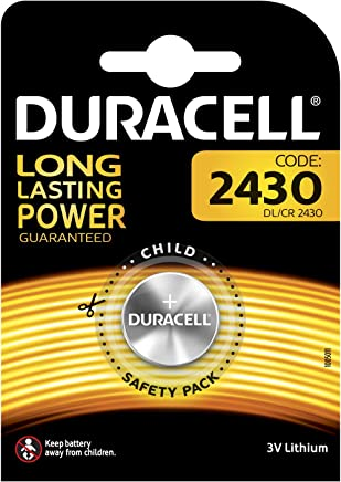 Duracell DL2430Lithium Button Cell Battery 1-Pack