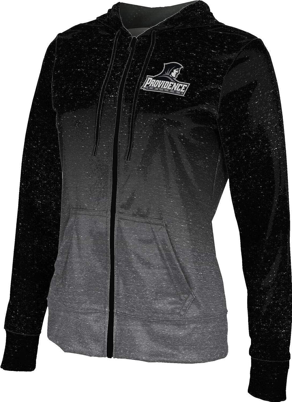 Providence College Girls' Zipper Hoodie, School Spirit Sweatshirt (Ombre)
