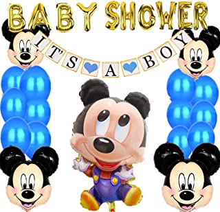 Mickey Mouse Baby Shower Decorations for Boy,