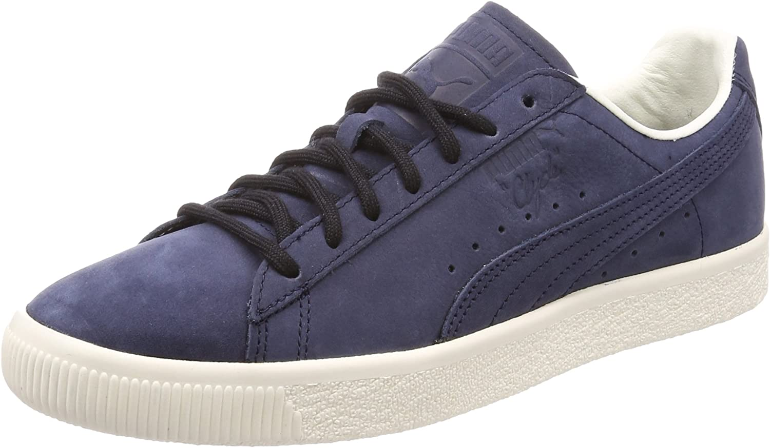 Puma Clyde Frosted Trainers bluee