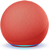 All-new Echo (4th Gen) | With premium sound, smart home hub, and Alexa | (PRODUCT)RED