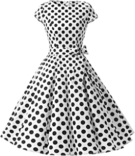 e10d39b7ab4 Dressystar Robe à  Audrey Hepburn  Classique Vintage 50 s 60 s Style ...