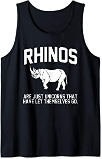 Rhinos are just Unicorns that have let themselves go Tank Top
